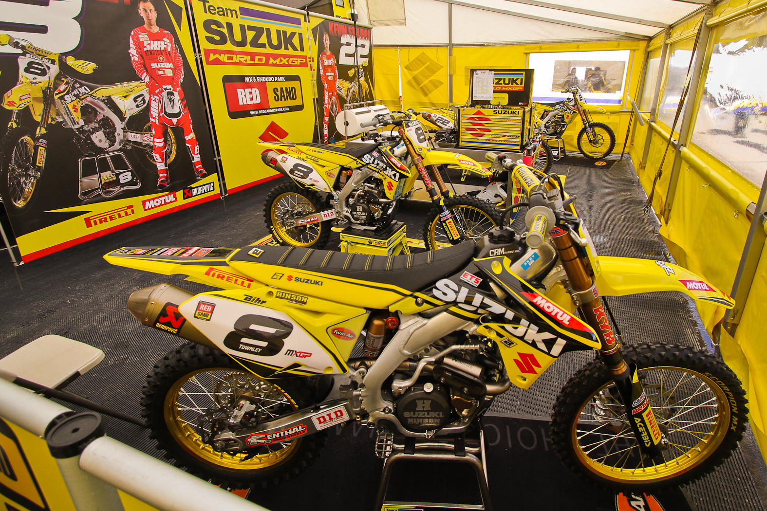 Team Suzuki World MXGP - In the Pits: MXGP of Europe - Motocross Pictures - Vital MX