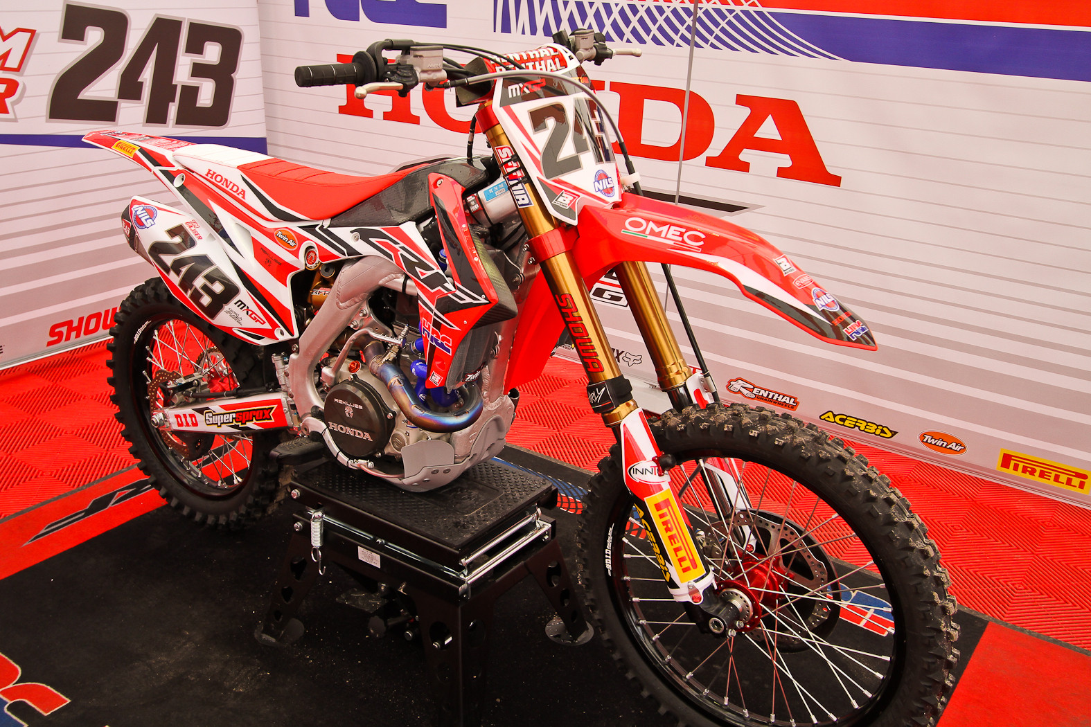 Tim Gajser - In the Pits: MXGP of Europe - Motocross Pictures - Vital MX