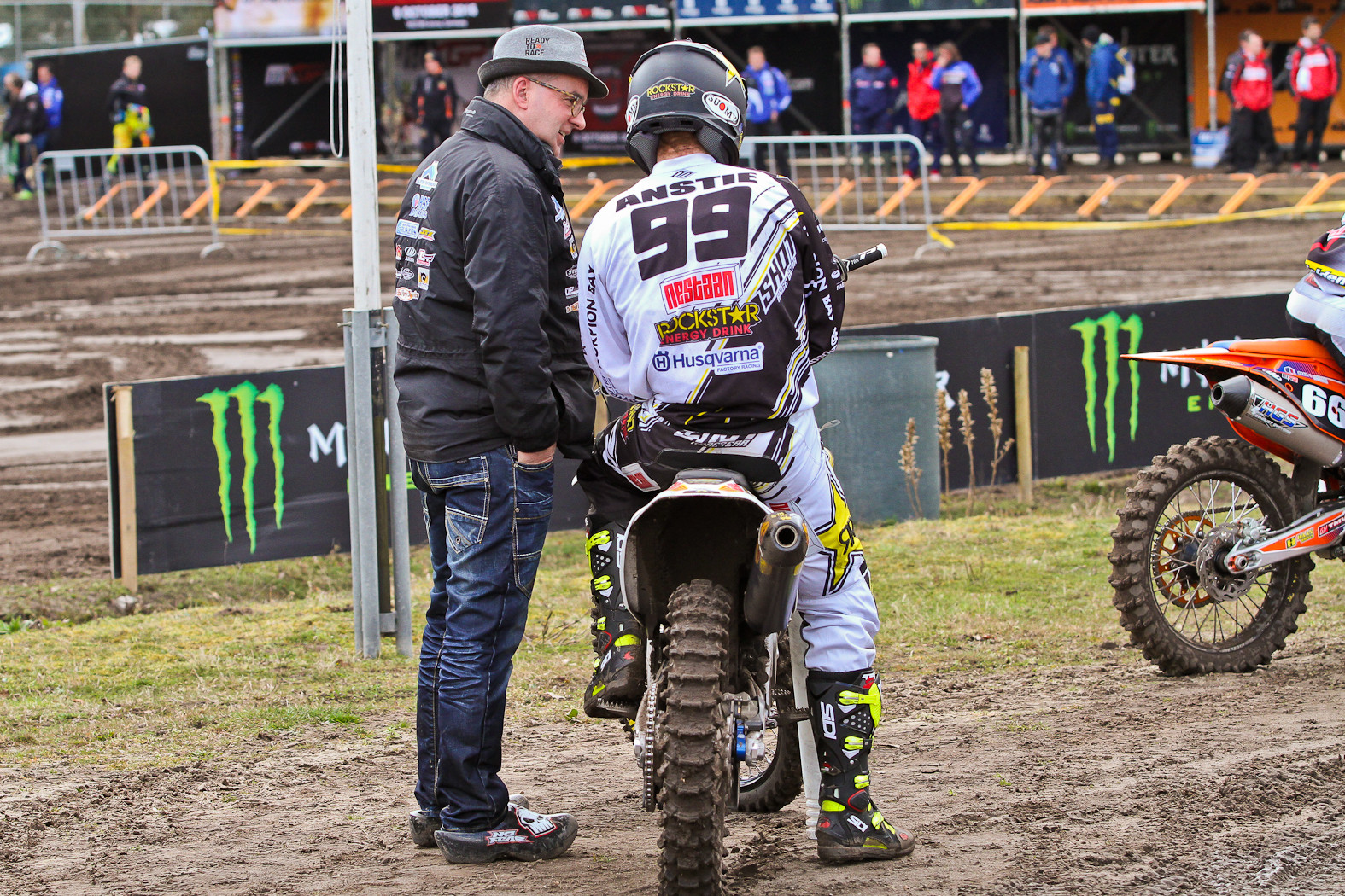 Max Anstie - In the Pits: MXGP of Europe - Motocross Pictures - Vital MX