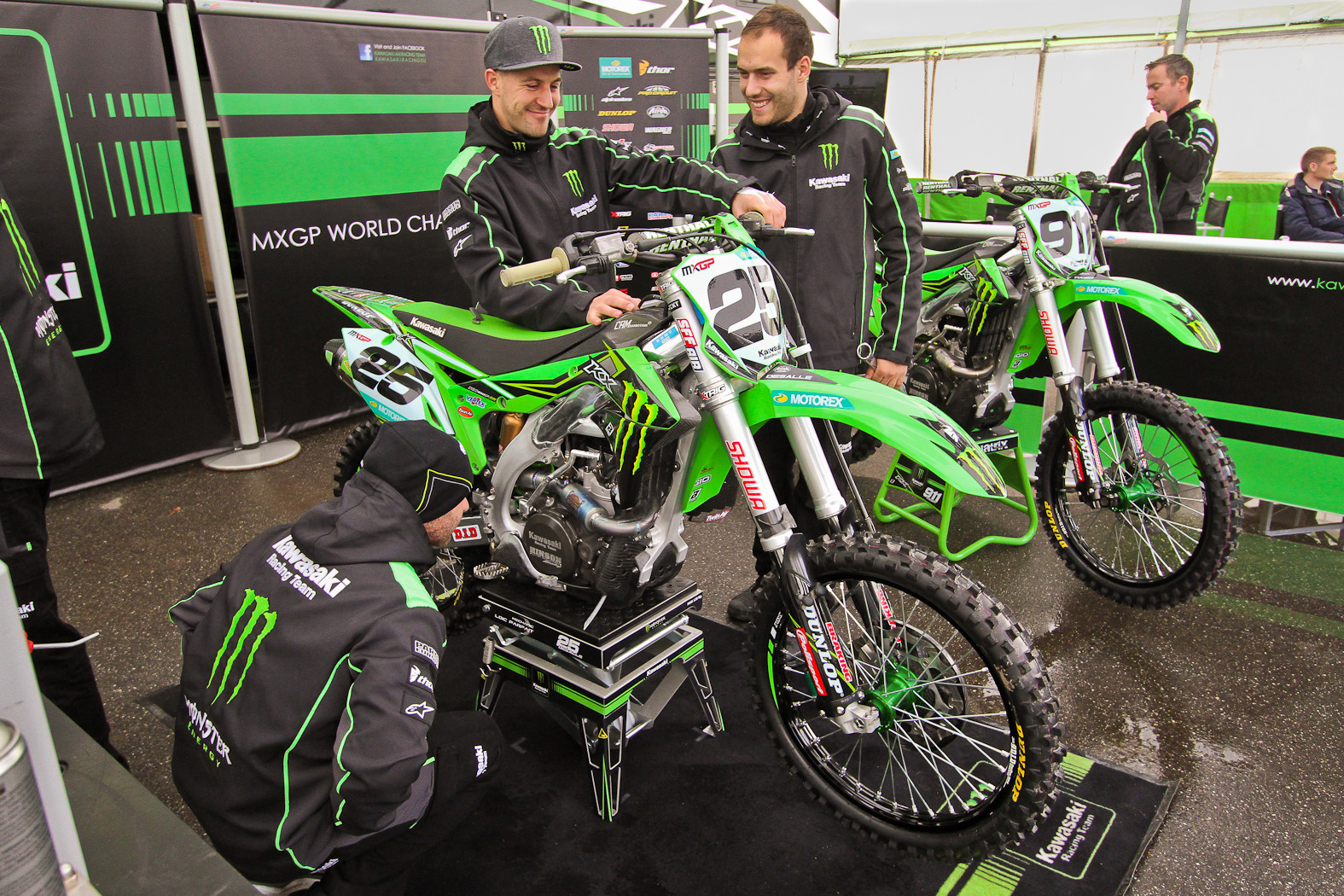 Clement Desalle - In the Pits: MXGP of Europe - Motocross Pictures - Vital MX