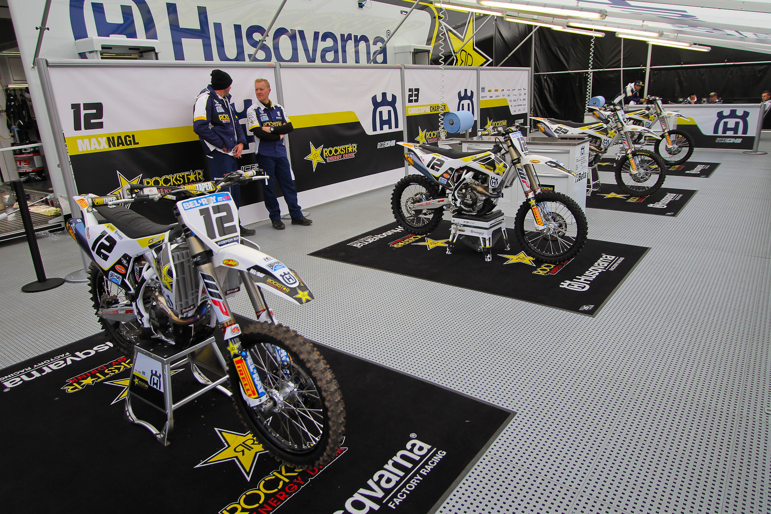 Team Rockstar Energy Husqvarna Factory Racing - In the Pits: MXGP of Europe - Motocross Pictures - Vital MX
