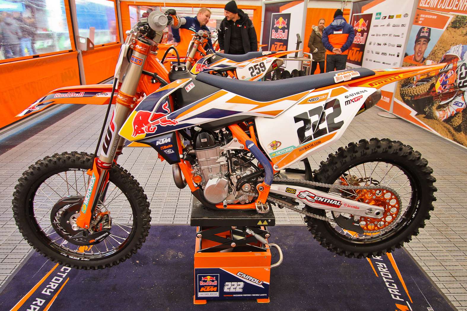 Toni Cairoli - In the Pits: MXGP of Europe - Motocross Pictures - Vital MX