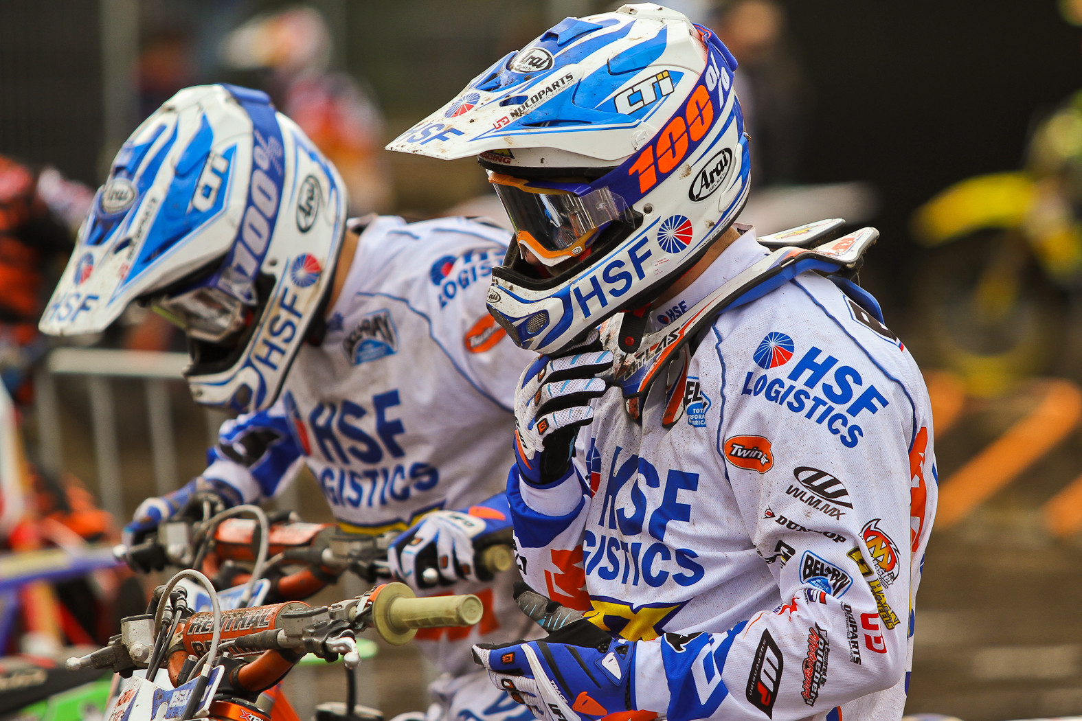 Team HSF Logistics - In the Pits: MXGP of Europe - Motocross Pictures - Vital MX