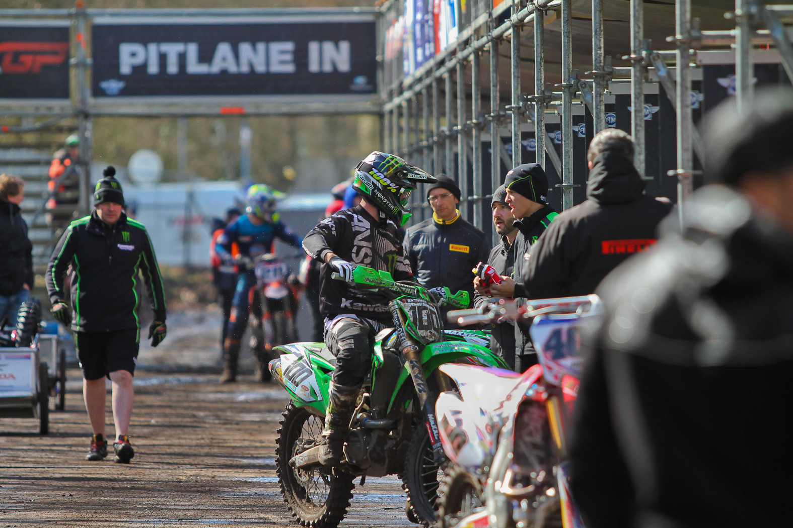 Tommy Searle - In the Pits: MXGP of Europe - Motocross Pictures - Vital MX