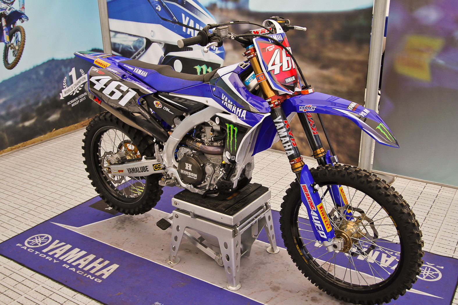 Romain Febvre - In the Pits: MXGP of Europe - Motocross Pictures - Vital MX