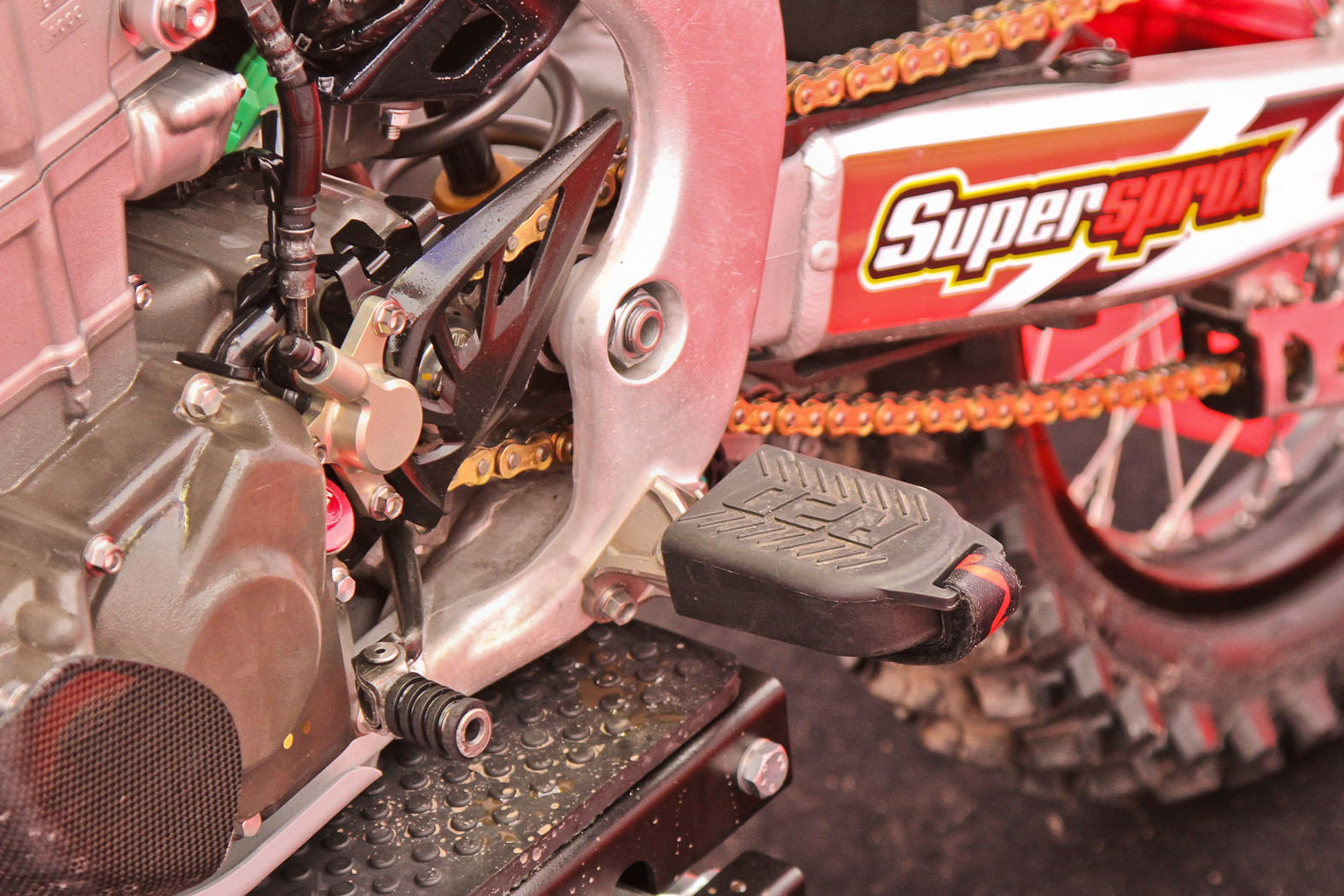 Footpeg covers - In the Pits: MXGP of Europe - Motocross Pictures - Vital MX
