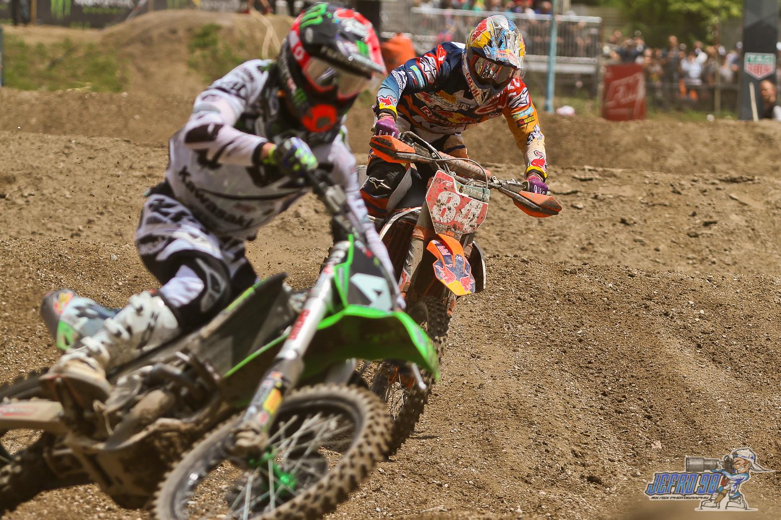 Ferrandis vs Herlings  - Photo Gallery: MXGP of Trentino, Italy - Motocross Pictures - Vital MX