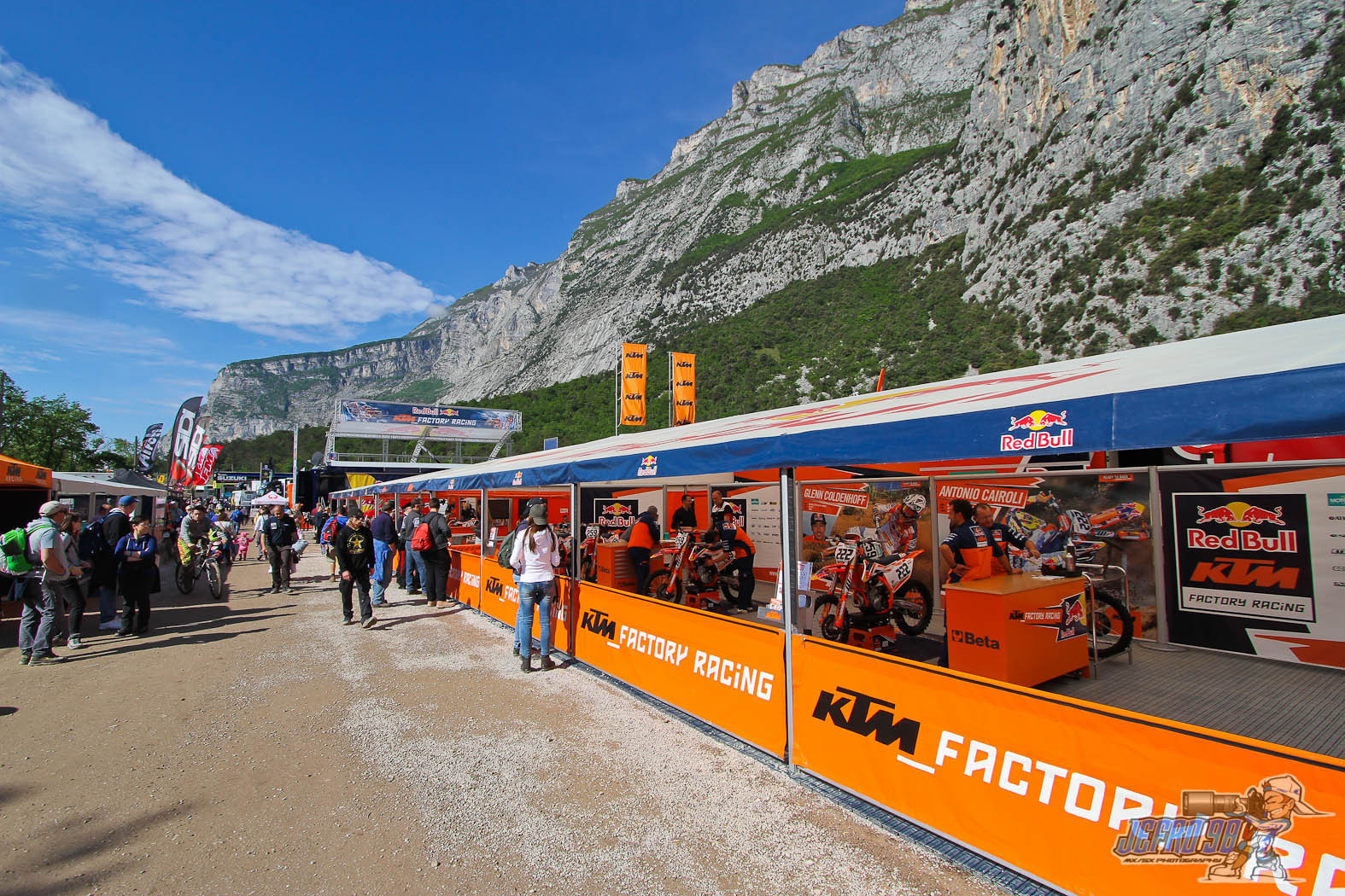 Paddock view - Photo Gallery: MXGP of Trentino, Italy - Motocross Pictures - Vital MX