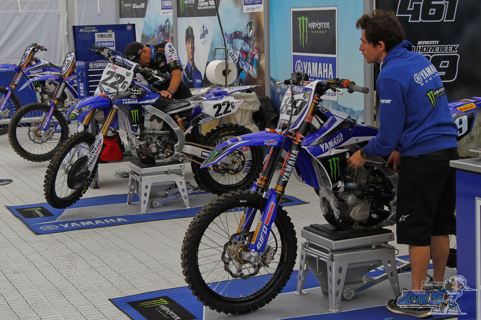 Guest in the Yamaha team - Photo Gallery: MXGP of Great Britain - Motocross Pictures - Vital MX
