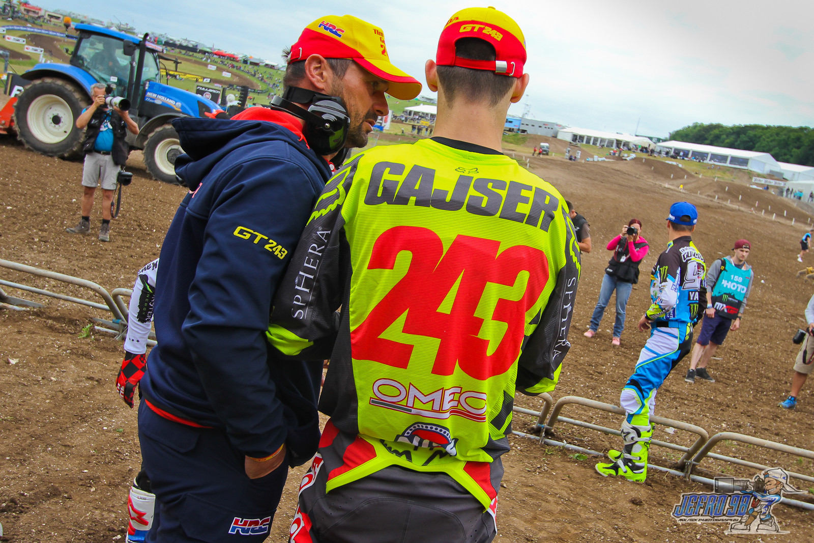 Tim Gajser - Photo Gallery: MXGP of Great Britain - Motocross Pictures - Vital MX