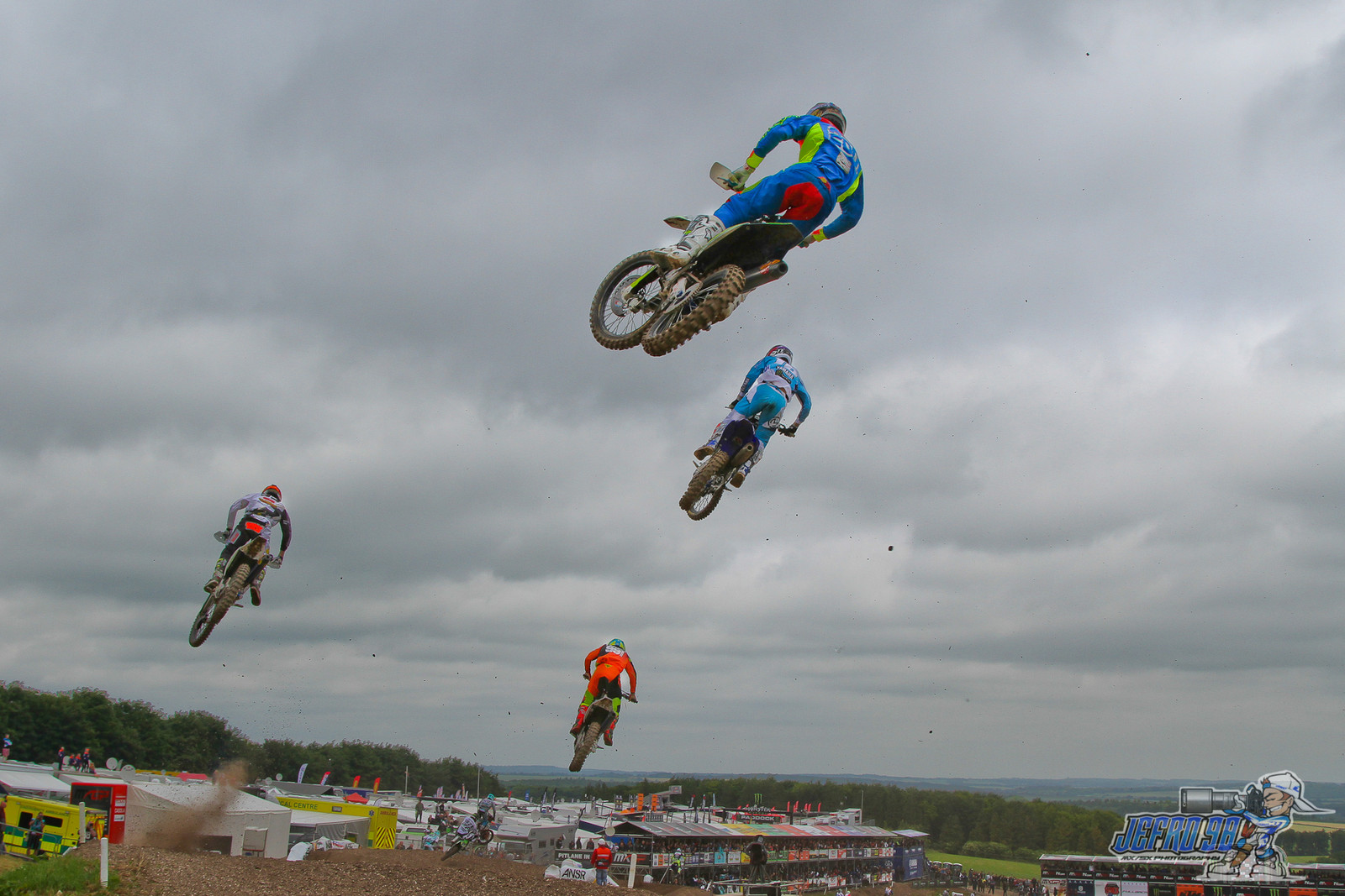 Crowded Skies - Photo Gallery: MXGP of Great Britain - Motocross Pictures - Vital MX