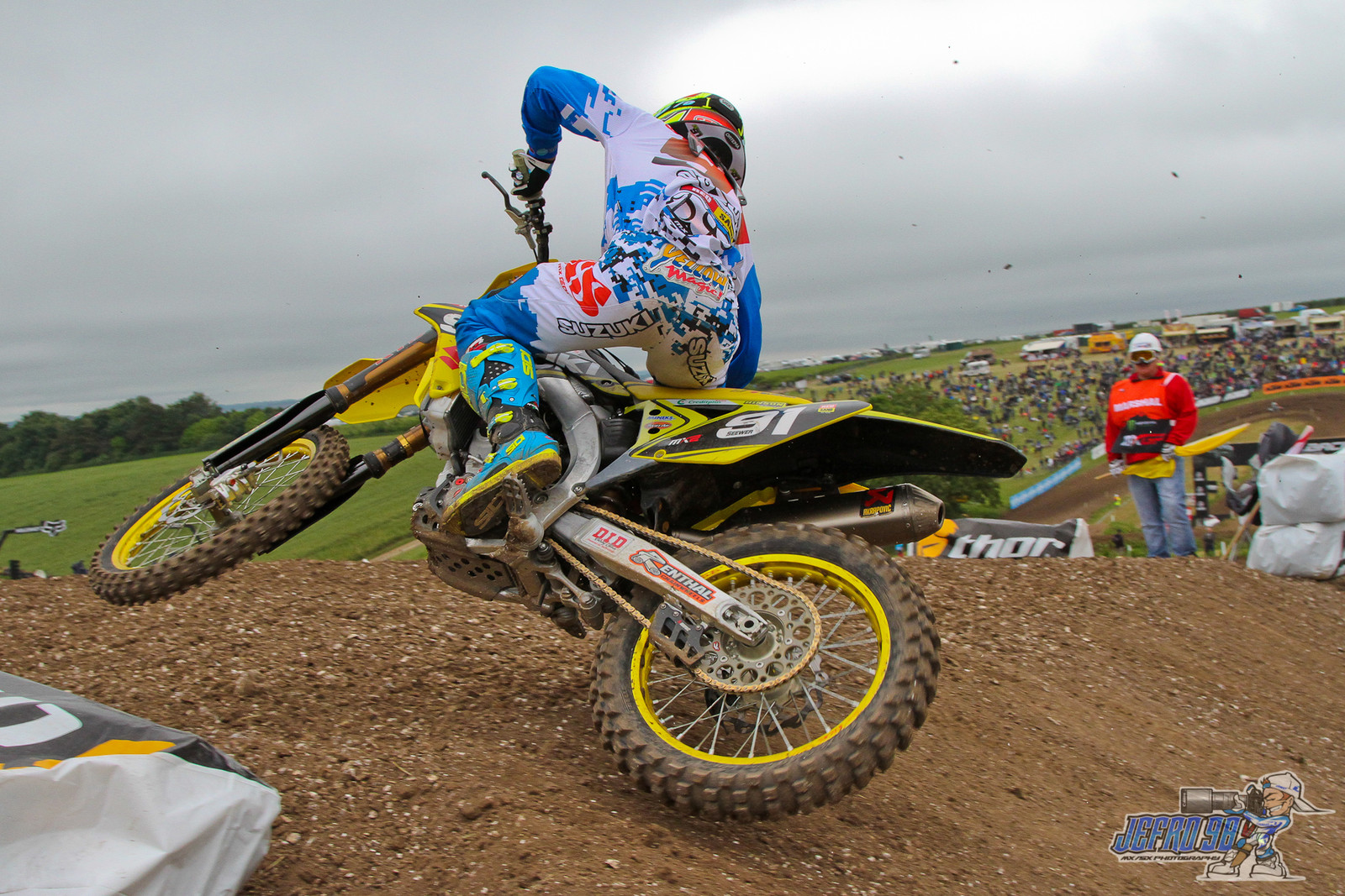 Jeremy Seewer - Photo Gallery: MXGP of Great Britain - Motocross Pictures - Vital MX