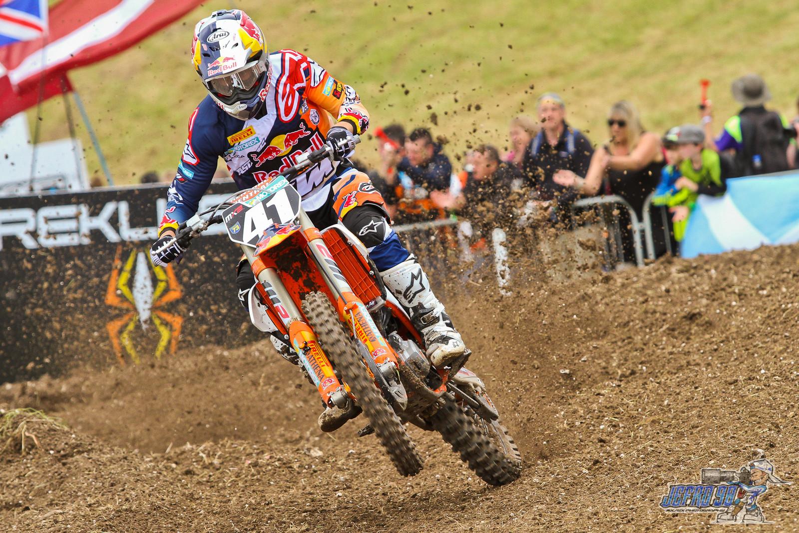 Pauls Jonass - Photo Gallery: MXGP of Great Britain - Motocross Pictures - Vital MX