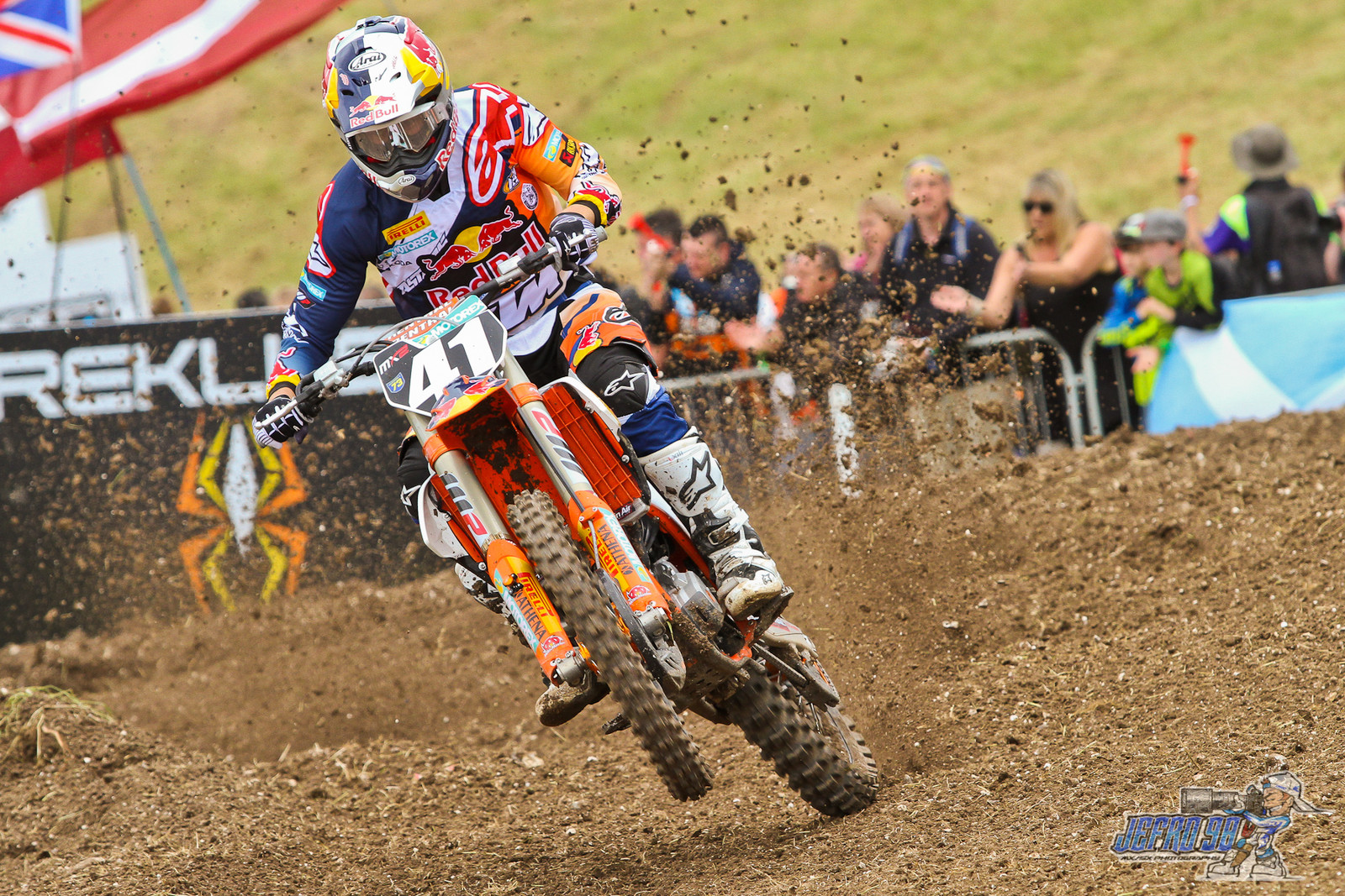 Pauls Jonass - Photo Gallery: MXGP of Great Britain - Motocross Pictures - Vital MX