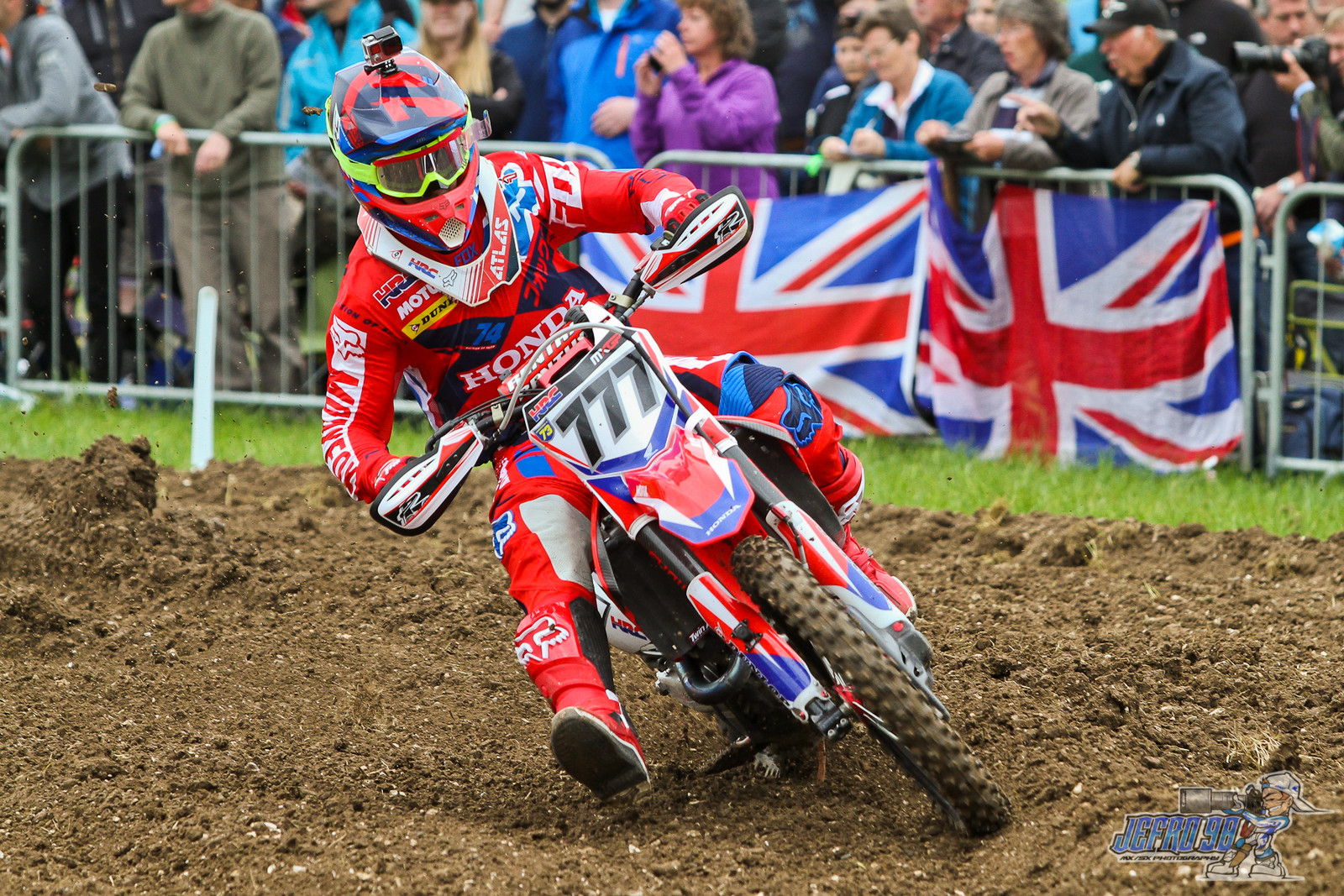 Evgeny Bobryshev - Photo Gallery: MXGP of Great Britain - Motocross Pictures - Vital MX