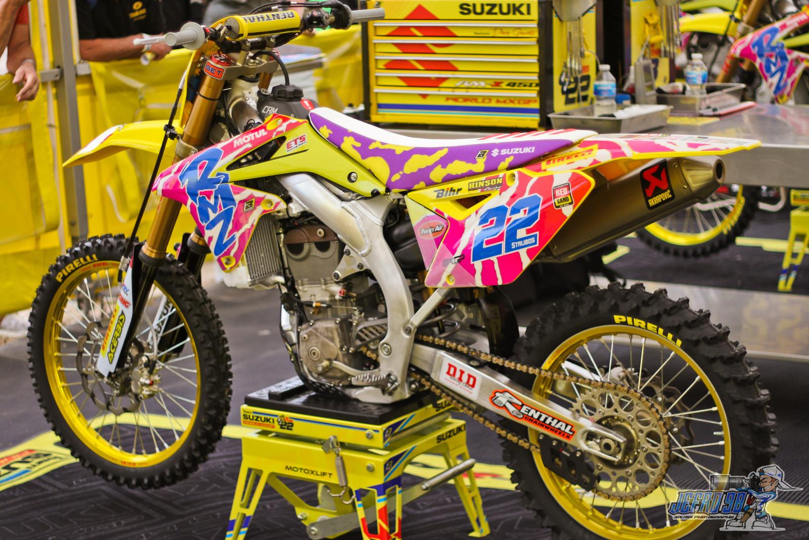 Retro Suzuki - Photo Gallery: MXGP of Limburg - Motocross Pictures - Vital MX
