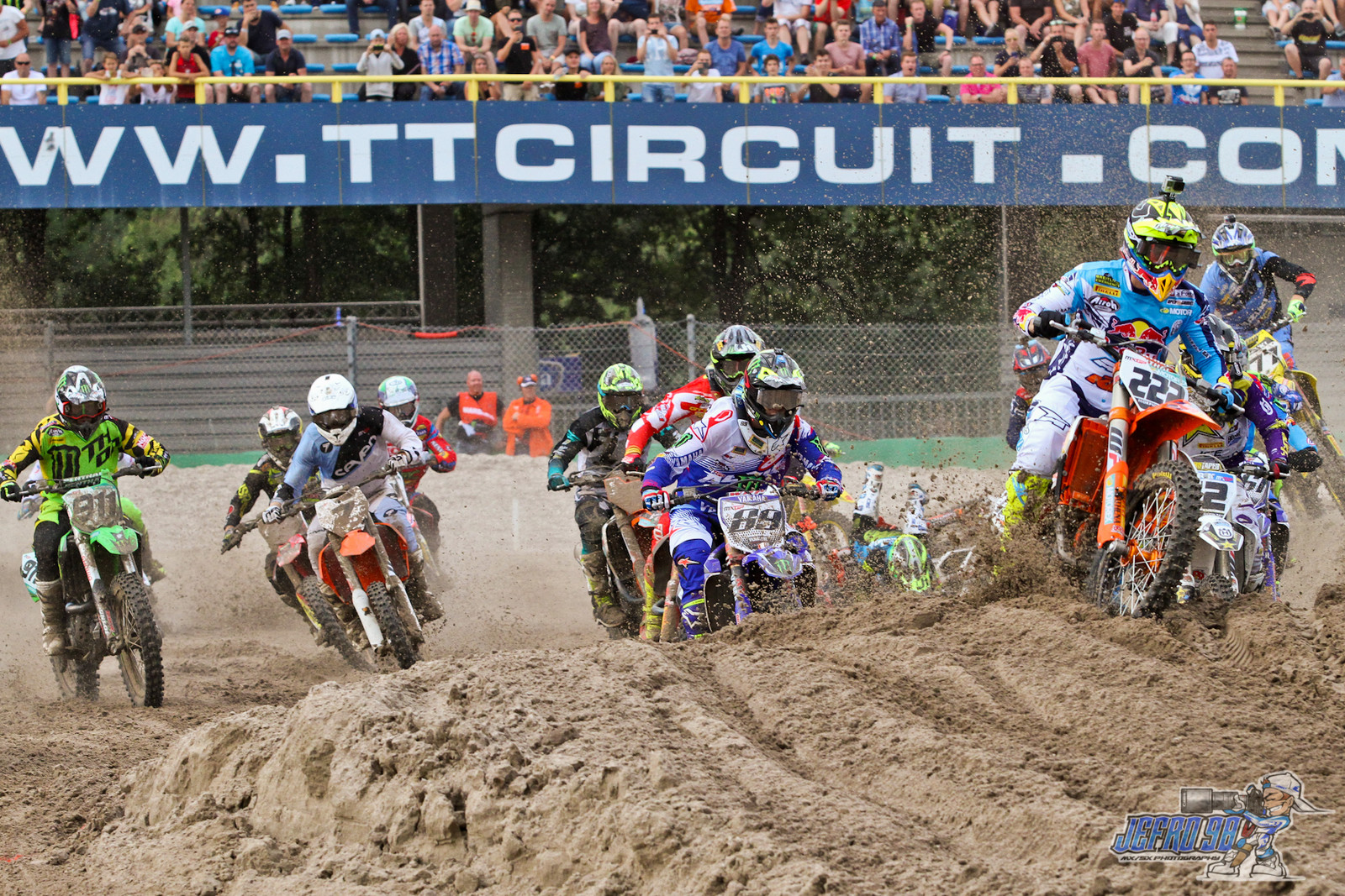 MXGP Moto 2 Start - Photo Gallery: MXGP of the Netherlands - Motocross Pictures - Vital MX