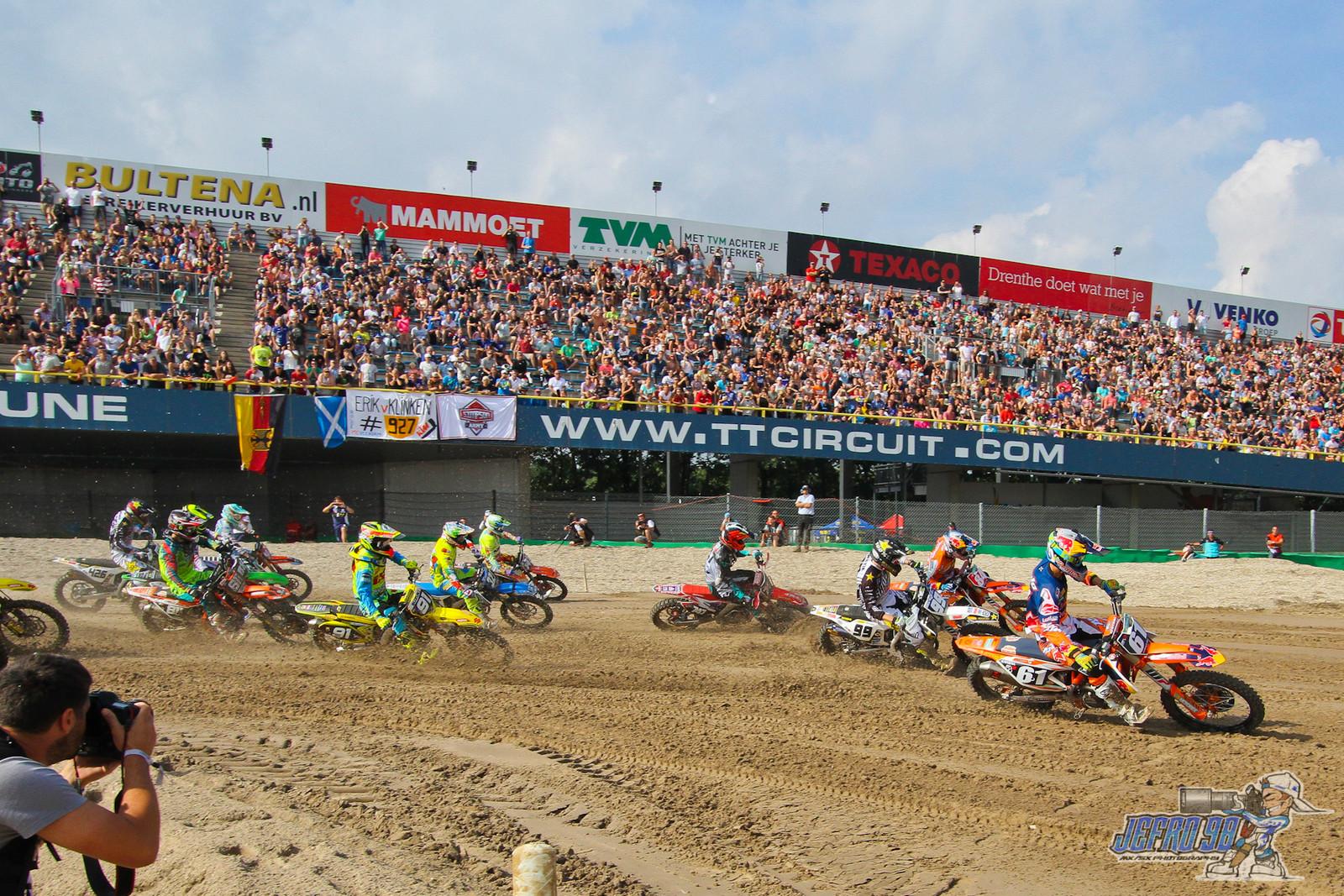 MX2 Moto 2 Start - Photo Gallery: MXGP of the Netherlands - Motocross Pictures - Vital MX