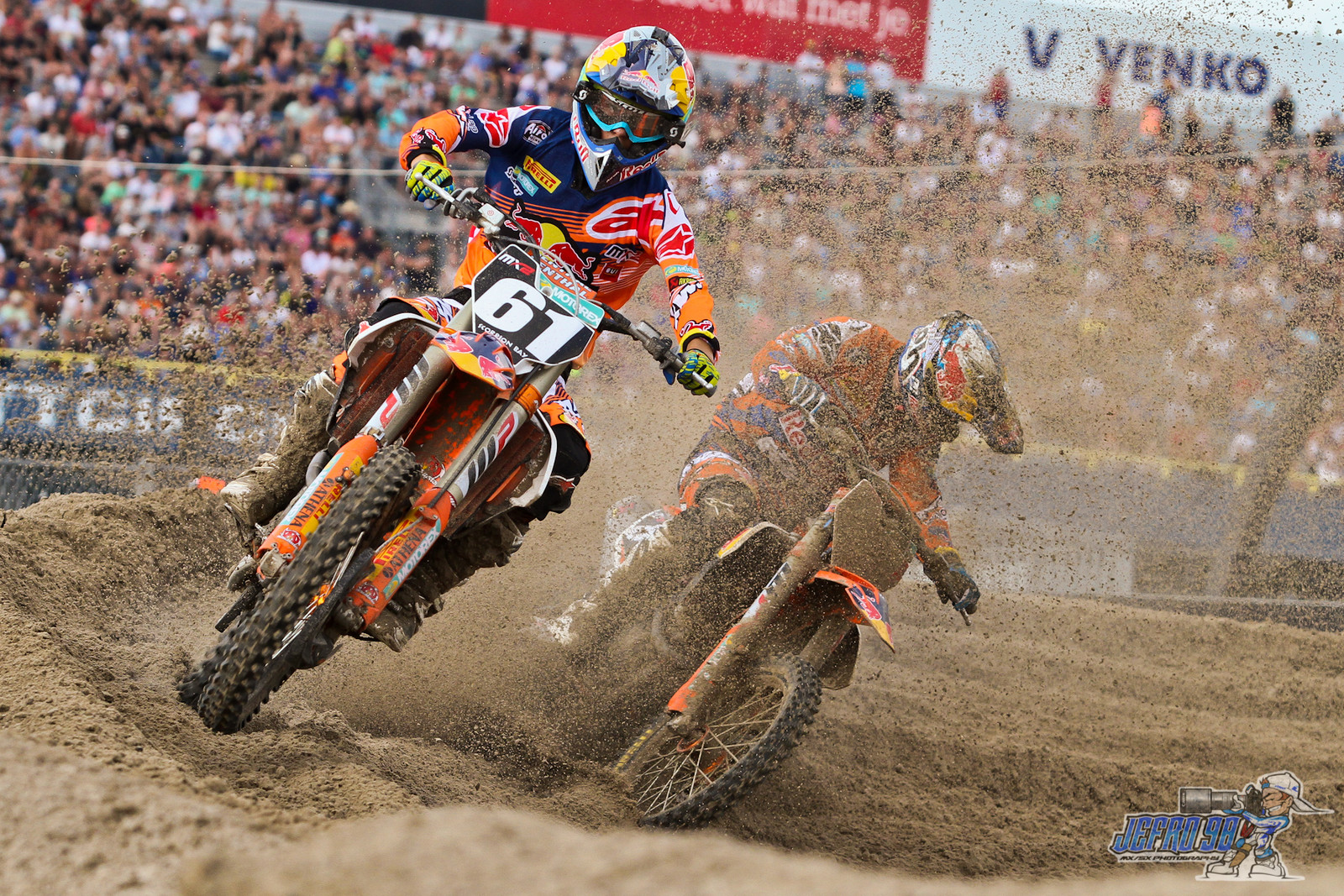Jorge Prado & Jeffrey Herlings - Photo Gallery: MXGP of the Netherlands - Motocross Pictures - Vital MX