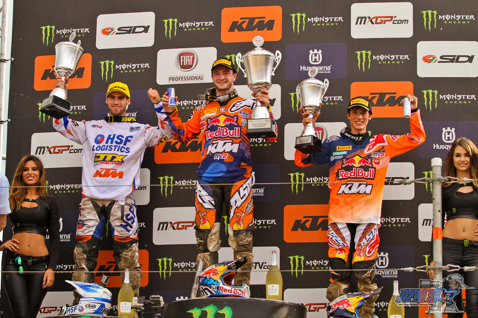 MX2 Podium - Photo Gallery: MXGP of the Netherlands - Motocross Pictures - Vital MX