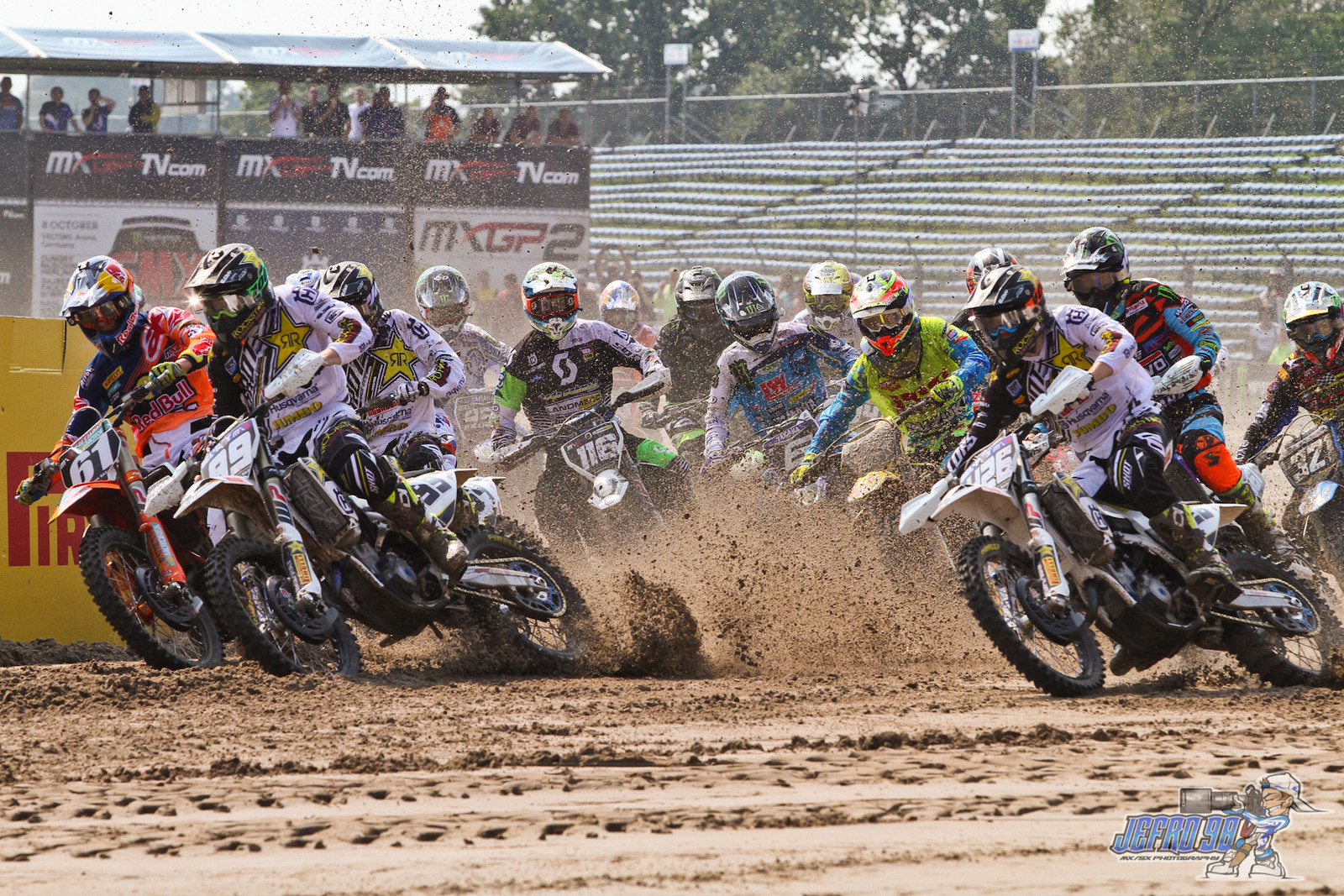 MX2 Moto1 Start - Photo Gallery: MXGP of the Netherlands - Motocross Pictures - Vital MX