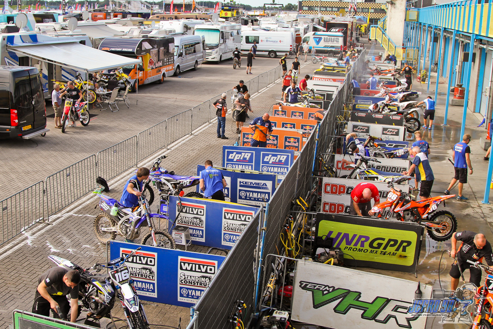 Bike Wash - Photo Gallery: MXGP of the Netherlands - Motocross Pictures - Vital MX