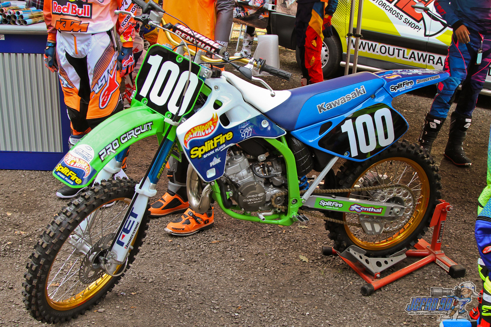 Jamie Dobb 1992 KX125 - Photo Gallery: MXGP of the Netherlands - Motocross Pictures - Vital MX