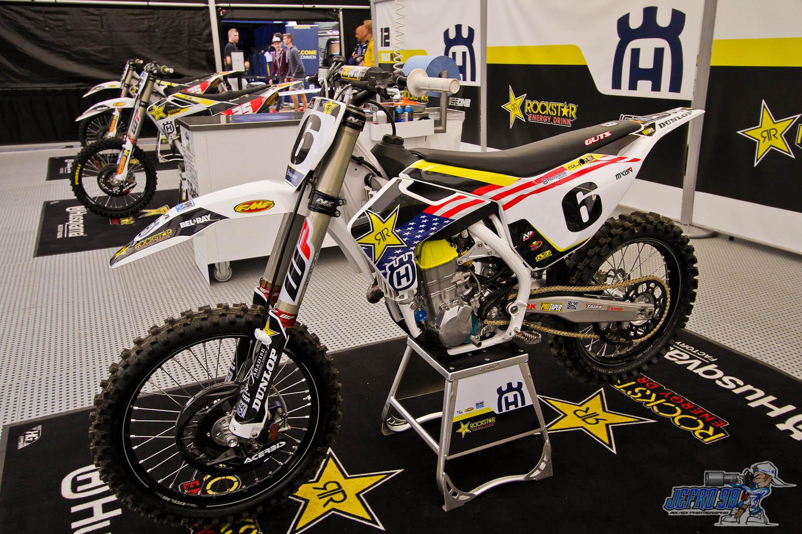 Jason Anderson bike - Photo Gallery MXoN Saturday - Motocross Pictures - Vital MX
