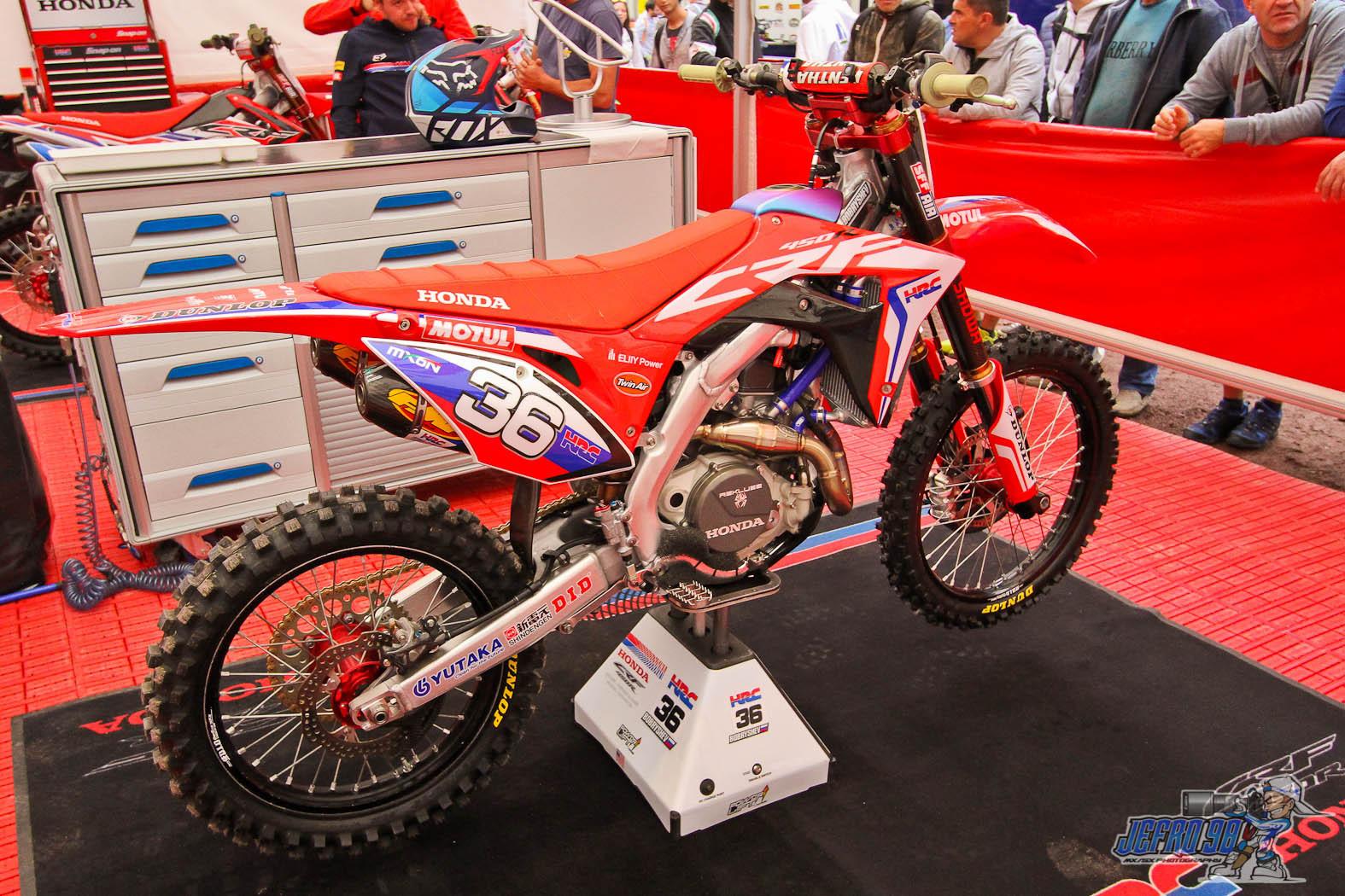 Evgeny Bobryshev bike - Photo Gallery MXoN Saturday - Motocross Pictures - Vital MX
