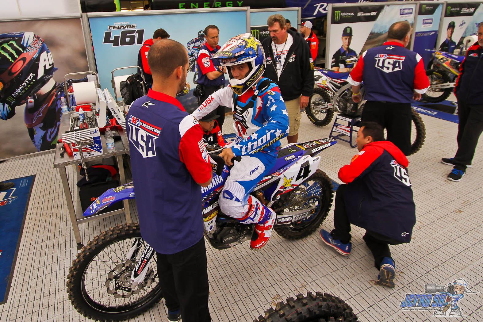Cooper Webb - Photo Gallery MXoN Saturday - Motocross Pictures - Vital MX