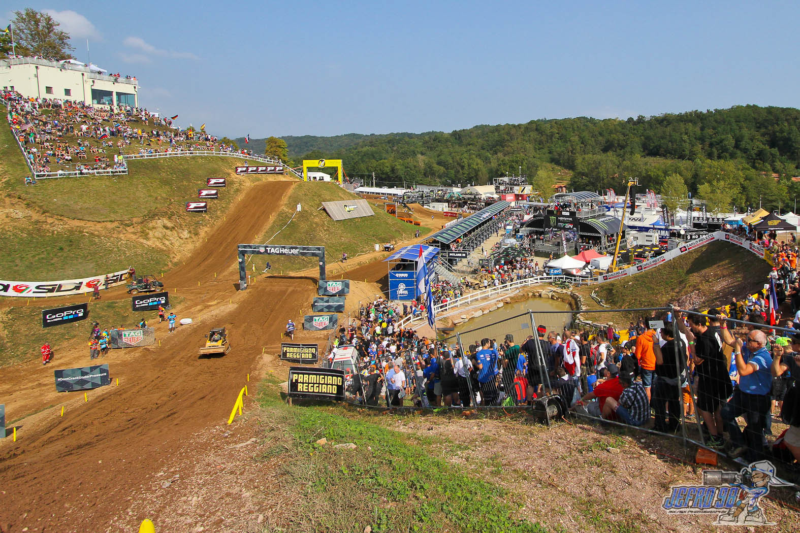 Maggiora track view - Photo Gallery MXoN Saturday - Motocross Pictures - Vital MX