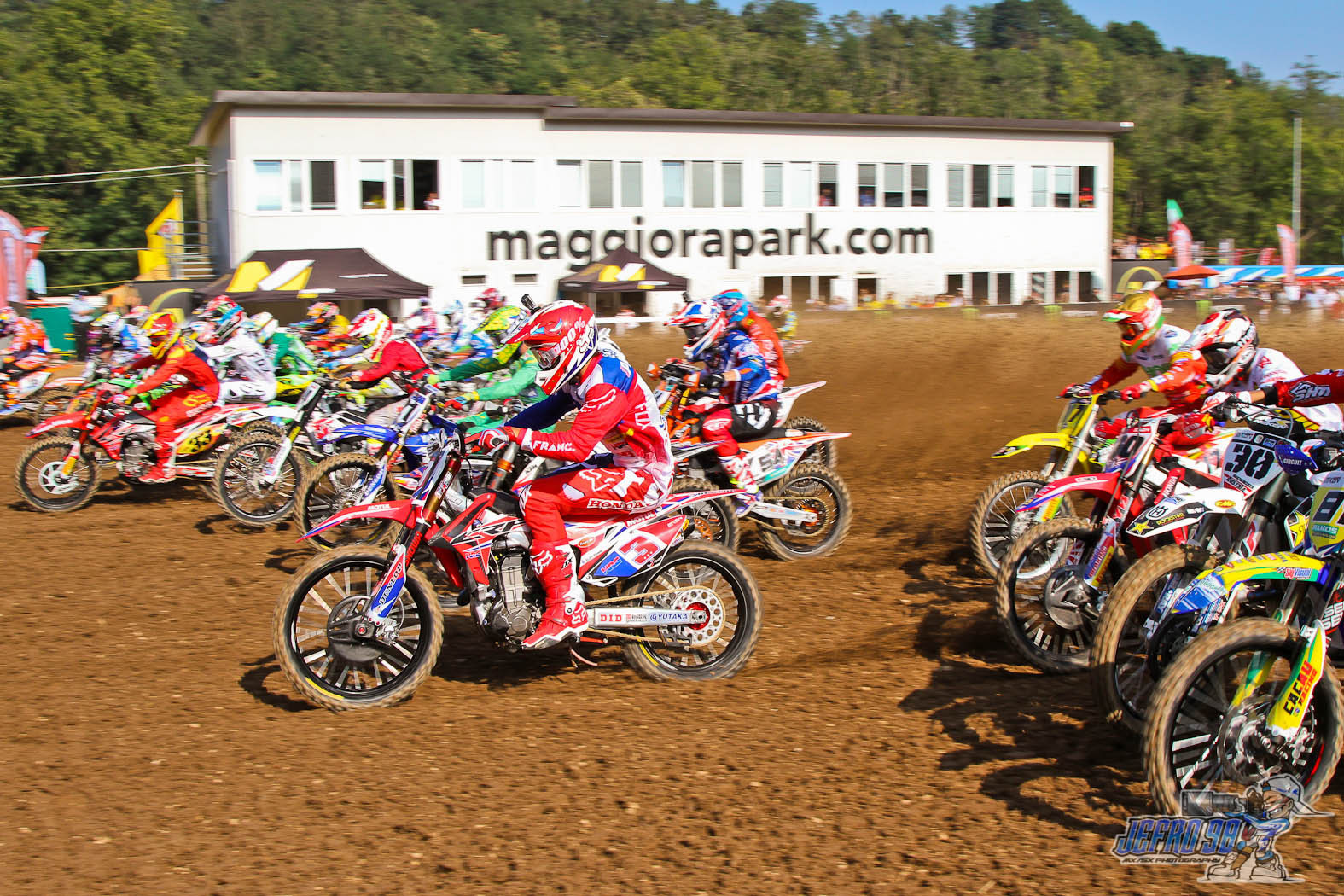 Open class start - Photo Gallery MXoN Saturday - Motocross Pictures - Vital MX