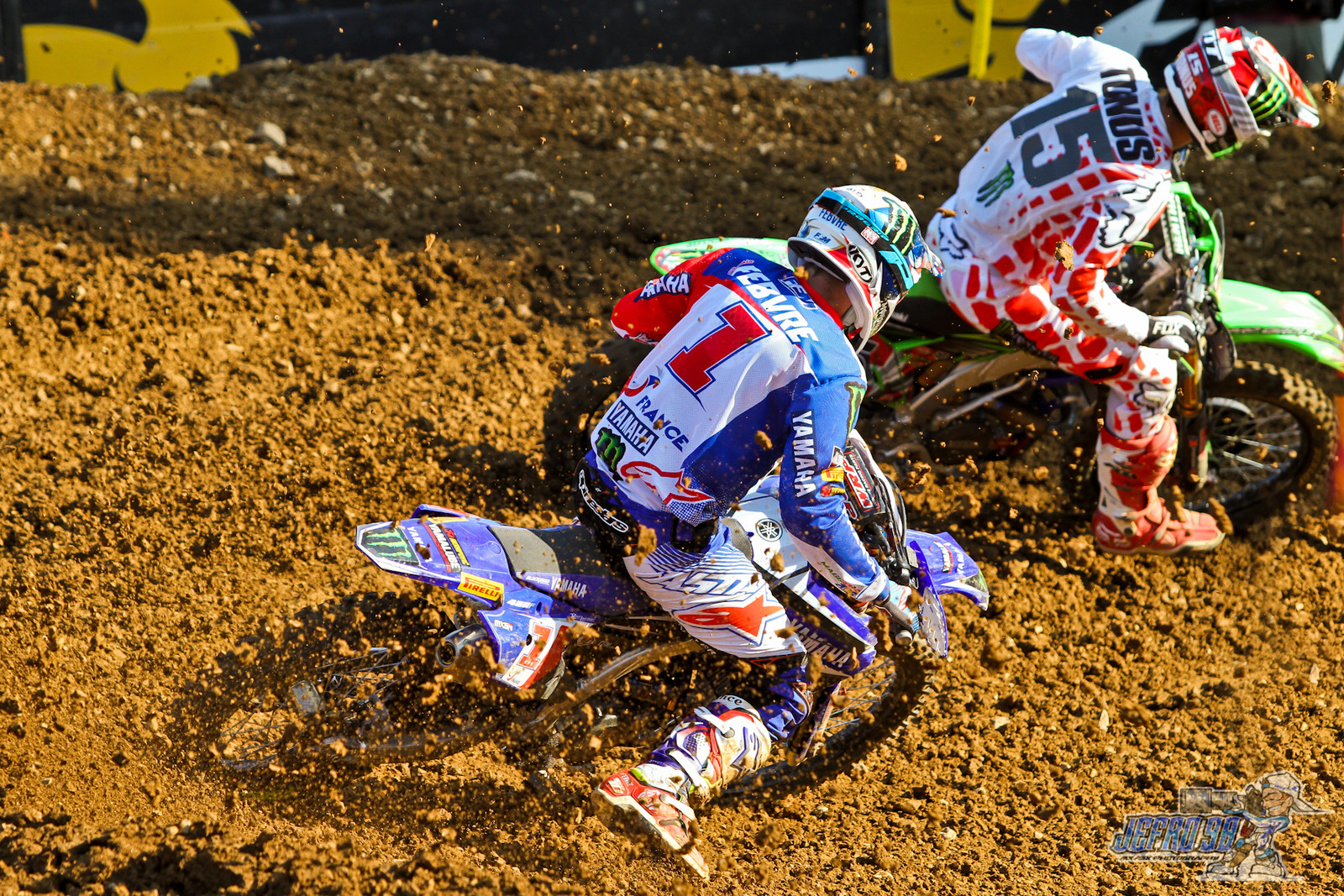 Romain Febvre & Arnaud Tonus - PhotoGallery: MXoN Sunday - Motocross Pictures - Vital MX