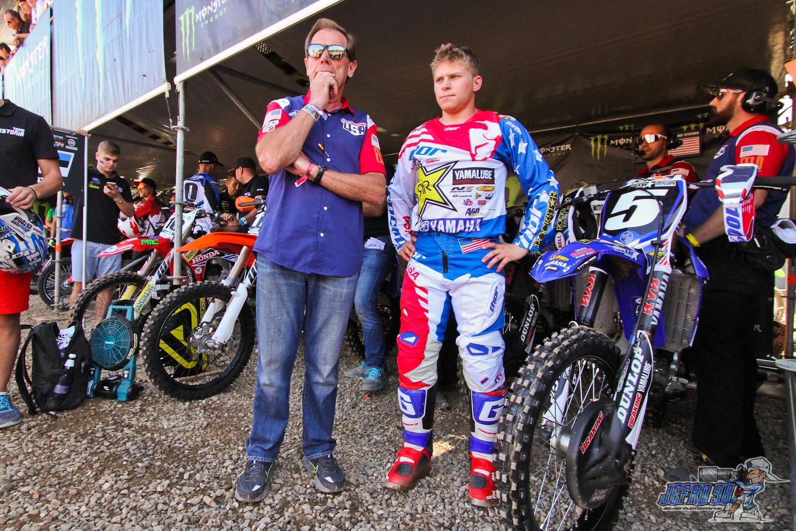 Alex Martin & Roger DeCoster - PhotoGallery: MXoN Sunday - Motocross Pictures - Vital MX