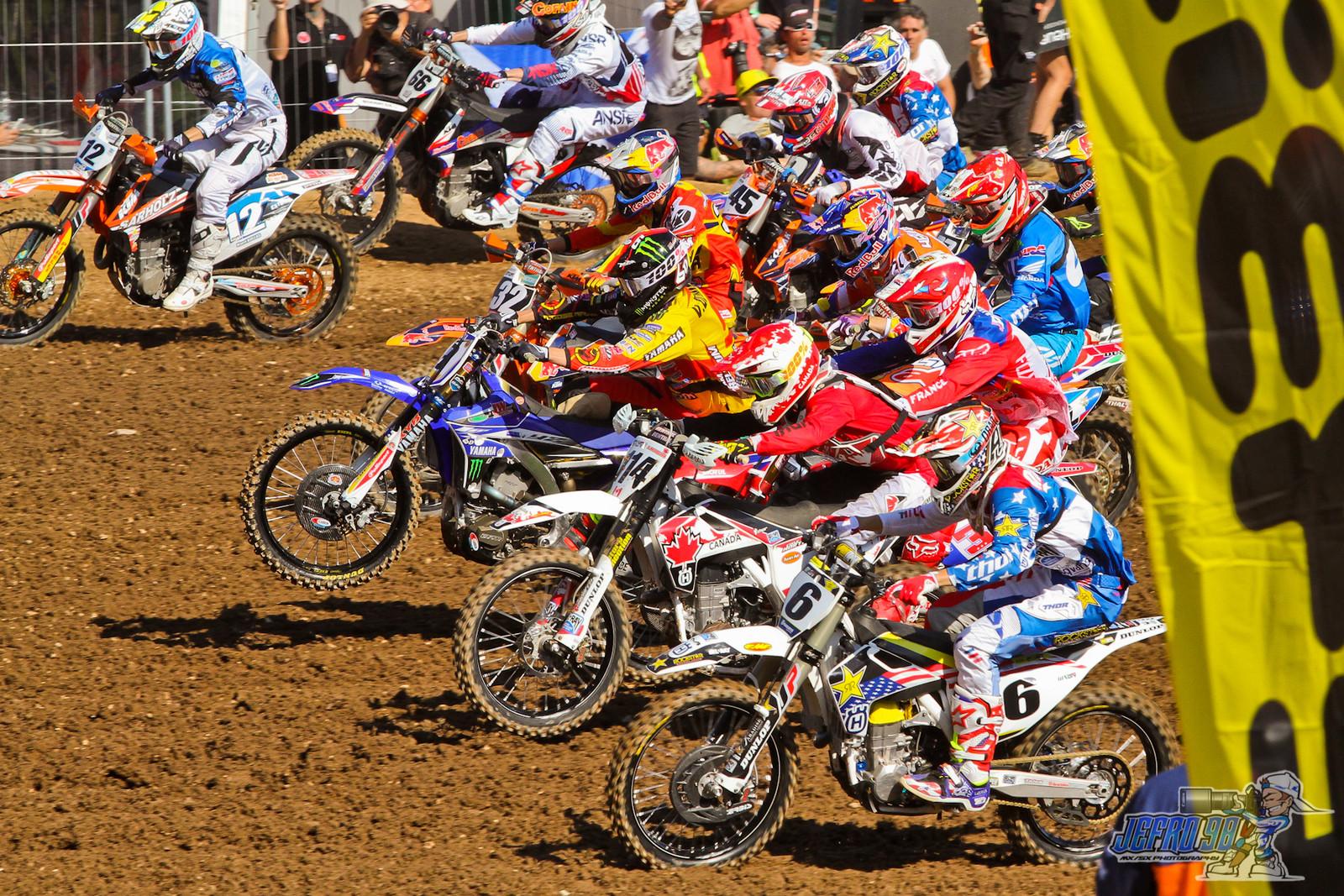 Race 2 start - PhotoGallery: MXoN Sunday - Motocross Pictures - Vital MX