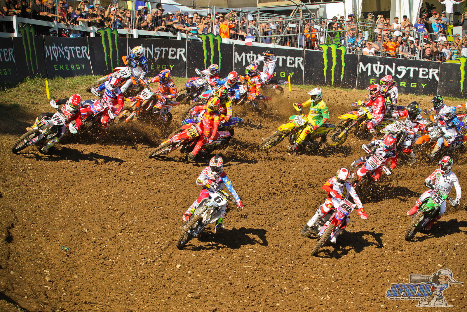 Race 2 first turn  - PhotoGallery: MXoN Sunday - Motocross Pictures - Vital MX