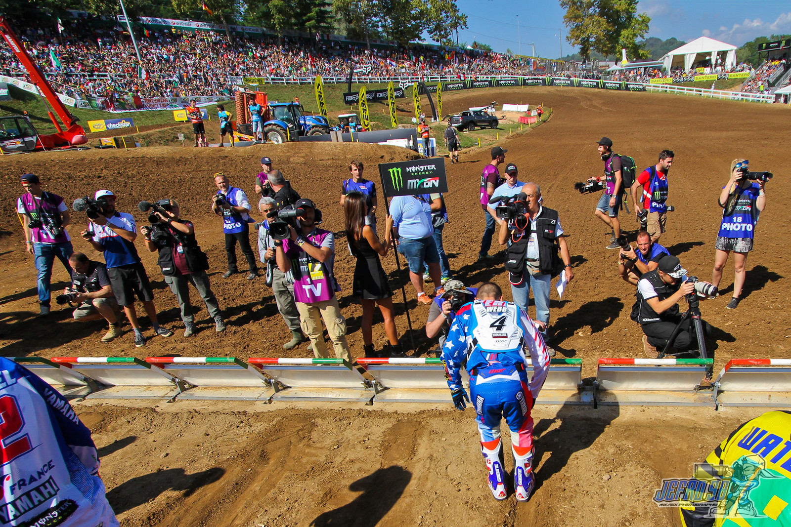 Cooper Webb gate prep - PhotoGallery: MXoN Sunday - Motocross Pictures - Vital MX