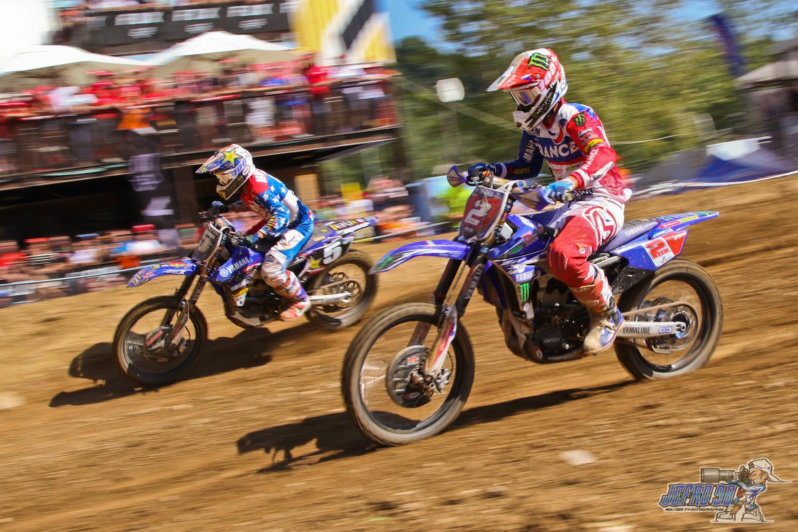 Alex Martin vs Benoit Paturel - PhotoGallery: MXoN Sunday - Motocross Pictures - Vital MX