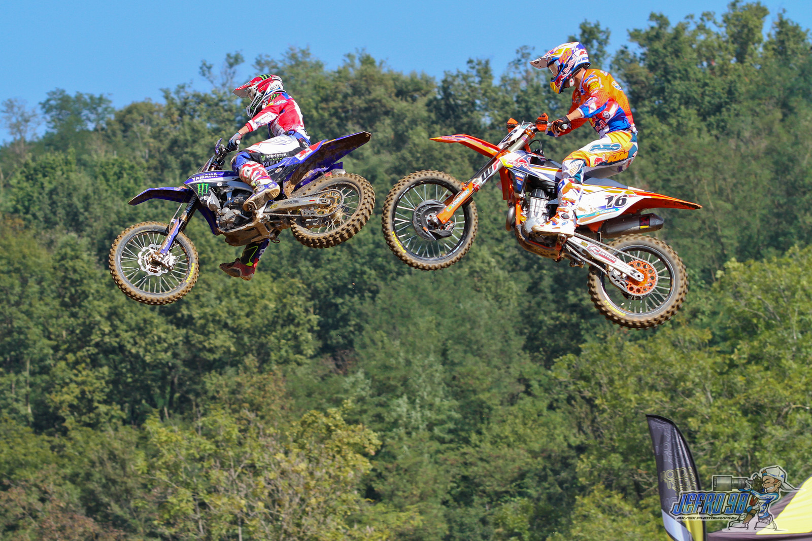 Romain Febvre vs Glenn Coldenhoff - PhotoGallery: MXoN Sunday - Motocross Pictures - Vital MX