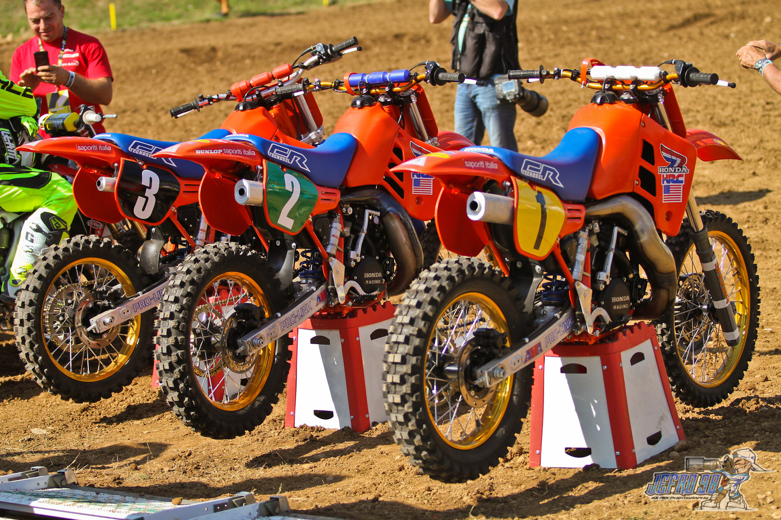 Legends 1986 Team USA bikes - PhotoGallery: MXoN Sunday - Motocross Pictures - Vital MX