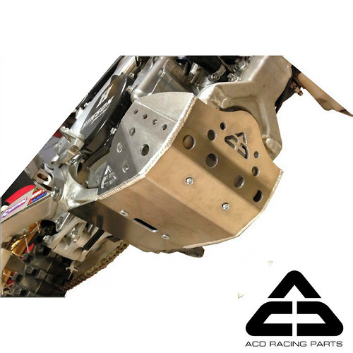 Skid Plate for Suzuki RMZ250  - ACD Racing U.S. - Motocross Pictures - Vital MX