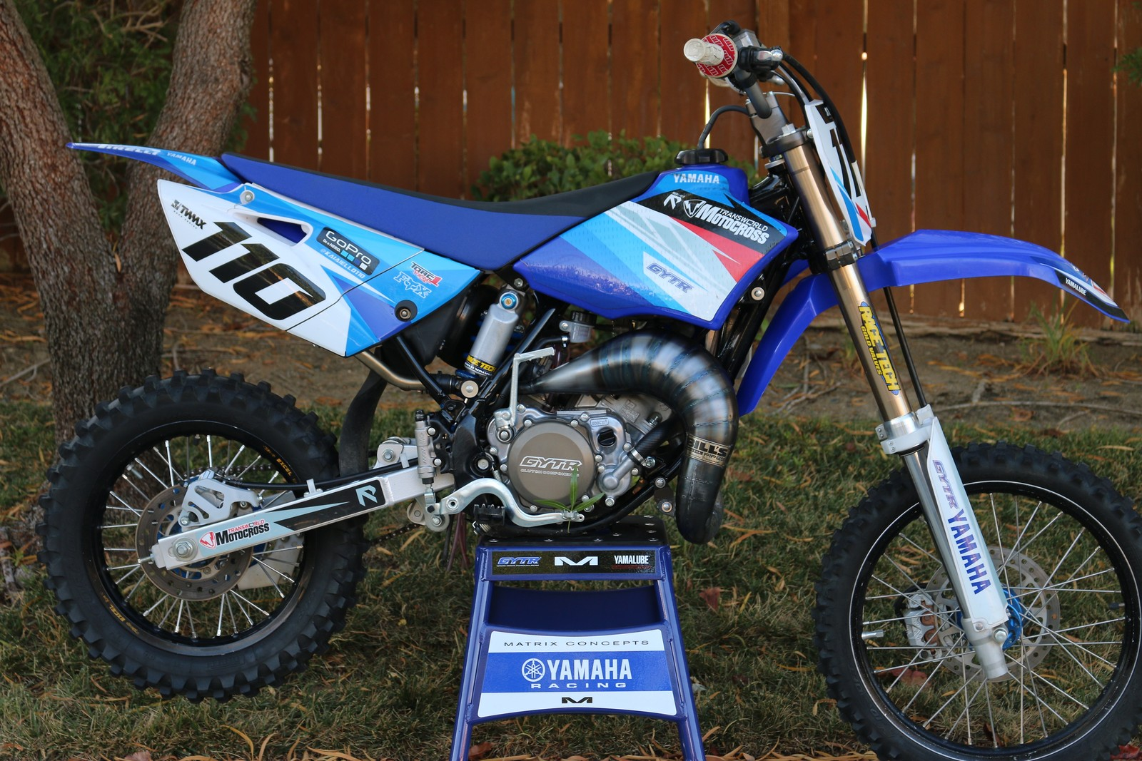 2015 Yamaha Yz85 Kaiaiello110 S Bike Check Vital Mx