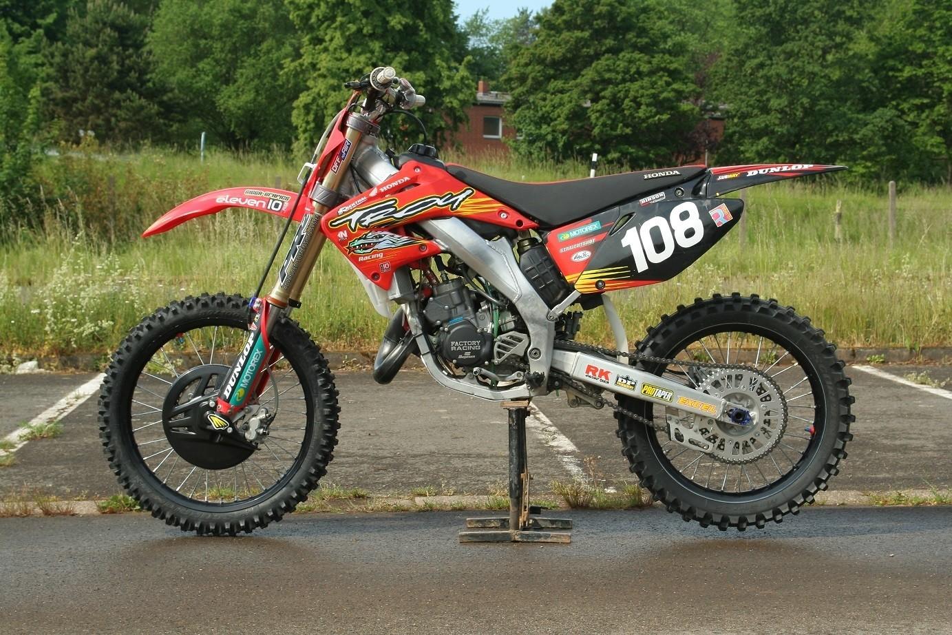 Honda Of Troy >> CR 125 Honda of Troy - Eljott's Bike Check - Vital MX