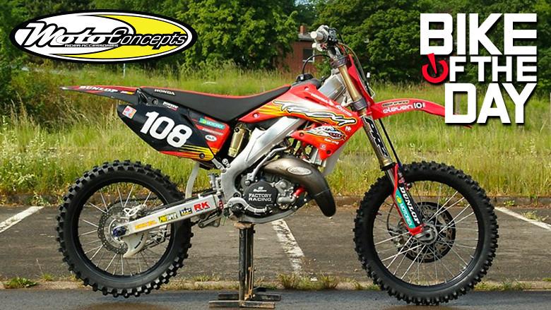 Cr 125 Honda Of Troy Eljotts Bike Check Vital Mx