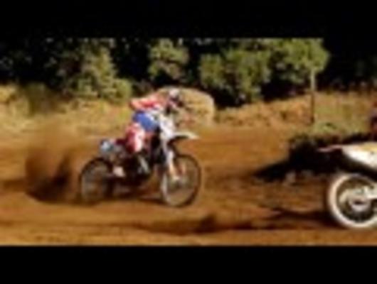 Battle KTM sxf 250 vs Husqvarna cr 125