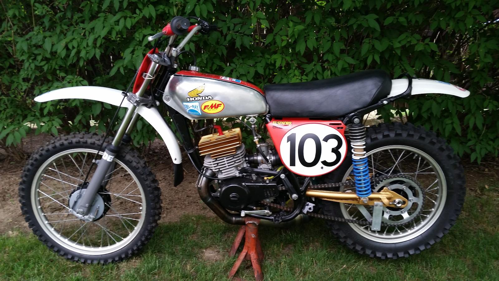 Clayton Nix's Honda