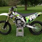 Supersmitty's kx450 Monster edition + old school JT filter oil bottle