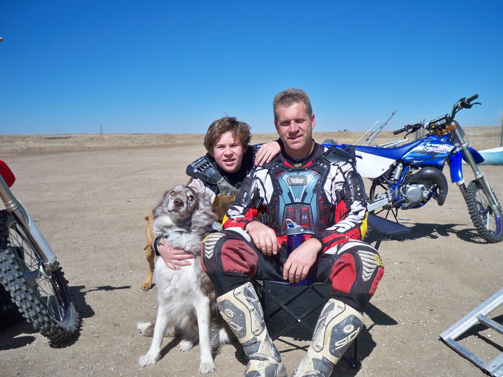 Me and the offspring - jtomasik - Motocross Pictures - Vital MX