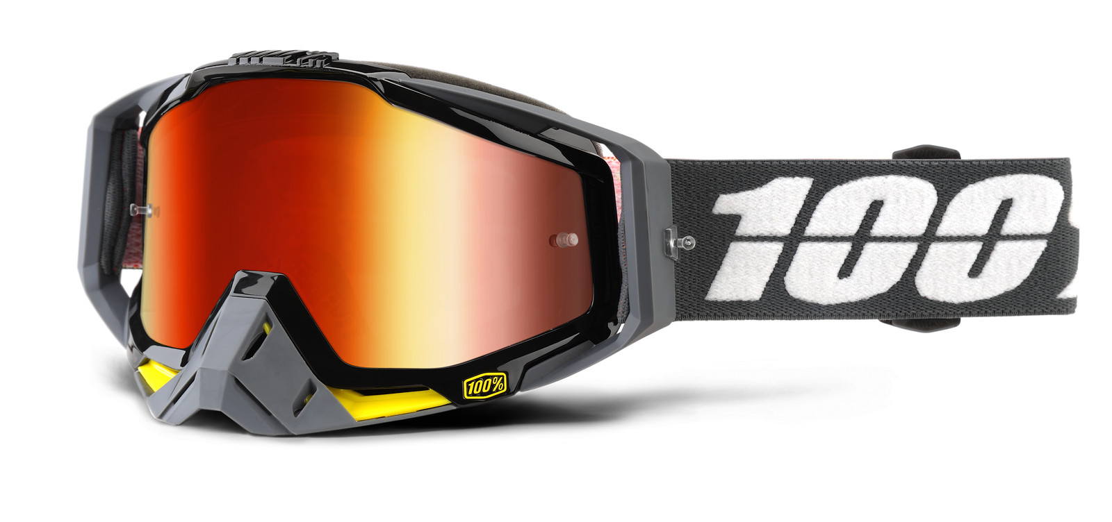 Racecraft Fortis Goggle - Mirror Red Lens - 100percent - Motocross Pictures - Vital MX