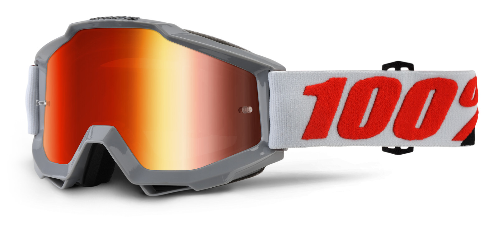 Accuri Solberg Goggle - Mirror Red Lens - 100percent - Motocross Pictures - Vital MX
